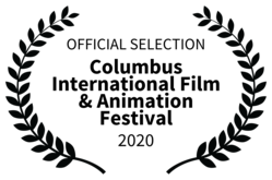 Pink Bike wins official selection at Columbus International Film & Animation Festival 2020